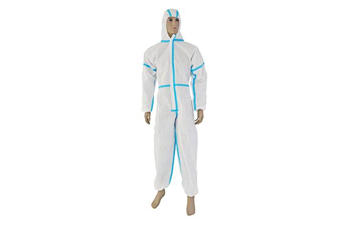 THE SMS BELT STRIP CONJOINED PROTECTIVE CLOTHING