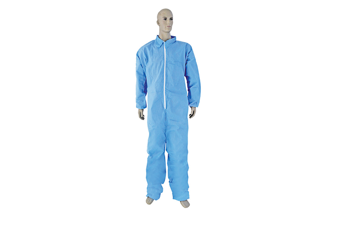 SMS COVERALL WITHOUT HOOD AND WITHOUT BOOTS
